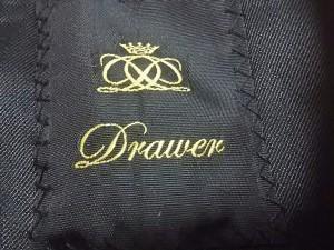 ドゥロワー Drawer ジャケット サイズ38 M レディース 新品同様 オレンジ×ライトグレー×黒【中古】