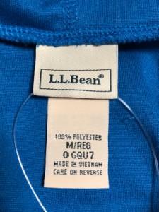 エルエルビーン L.L.Bean ブルゾン サイズM レディース 美品 ブルー フリース/春・秋物【中古】