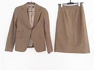 ダナキャラン DKNY スカートセットアップ サイズ4 XL レディース 美品 ダークブラウン 3点セット/スカート丈違い【中古】