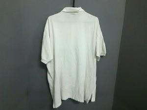 ポロラルフローレン POLObyRalphLauren 半袖ポロシャツ サイズXL メンズ アイボリー【中古】