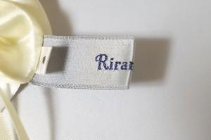 リランドチュール Rirandture スカート サイズ2 M レディース 美品 イエロー ビジュー【中古】
