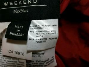 マックスマーラウィークエンド Max MaraWEEKEND ダウンコート サイズ38 S レディース 美品 レッド 冬物【中古】