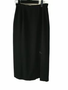 イタリヤ 伊太利屋/GKITALIYA ロングスカート サイズ9 M レディース 黒 ラインストーン【中古】