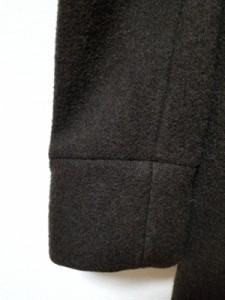 エディフィス EDIFICE コート サイズ38 M メンズ ダークブラウン カシミヤ混/冬物【中古】