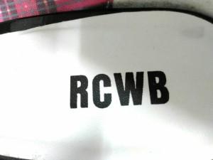 ロデオクラウンズ RCWB RODEOCROWNS WIDE BOWL パンプス L レディース 黒 エナメル(合皮)【中古】