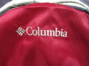 コロンビア columbia リュックサック レディース レッド×アイボリー×グレー メッシュ ナイロン【中古】