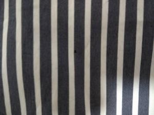 ニジュウサンク 23区 長袖シャツブラウス サイズ38 M レディース ダークグレー×白 ストライプ【中古】