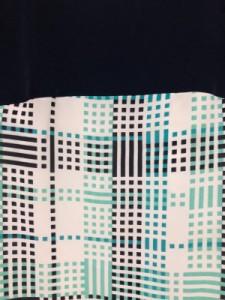 インディビ INDIVI ワンピース サイズ05 XS レディース 白×グリーン×黒【中古】