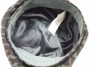 コーチ COACH 帽子 M/L レディース 美品 ダークグレー×黒×ブラウン ウール×ナイロン【中古】