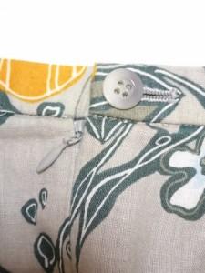 スキャパ Scapa ロングスカート サイズ44 L レディース ベージュ×オレンジ×マルチ 花柄【中古】