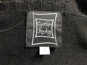 シンシアローリー CYNTHIA ROWLEY コート サイズ2 S レディース 黒 春・秋物/ニット【中古】