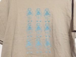 ポールスミスジーンズ PaulSmithJEANS 半袖Tシャツ サイズM メンズ ベージュ×ライトブルー【中古】