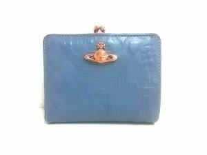 87387e5c937f 財布 レディース 二つ折り がま口 ブルー | Stanford Center for ...