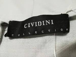 チヴィディーニ CIVIDINI ワンピース サイズ42 M レディース 美品 ライトグレー 肩パッド【中古】