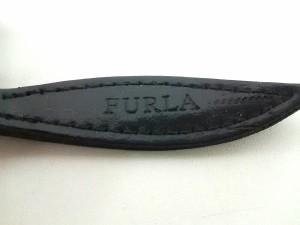 フルラ FURLA コインケース レディース レッド×黒 レザー【中古】