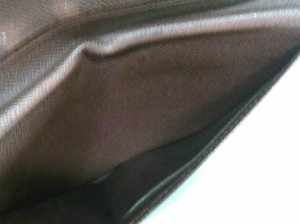ルイヴィトン LOUIS VUITTON 札入れ ダミエ レディース ポルト バルール・カルト クレディ N61823 エベヌ ダミエ・キャンバス【中古】