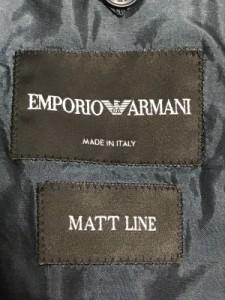 エンポリオアルマーニ EMPORIOARMANI ジャケット サイズ44 S メンズ ネイビー 春・秋物/MATTLINE【中古】