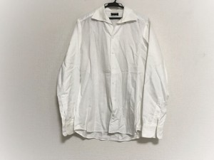 ジョセフオム JOSEPH HOMME 長袖シャツ サイズ48 XL メンズ 美品 白【中古】