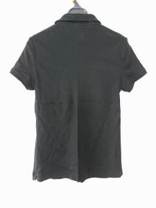 バーバリーロンドン Burberry LONDON 半袖ポロシャツ サイズ2 M レディース 黒【中古】