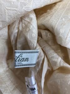レリアン Leilian ワンピーススーツ サイズ7 S レディース イエロー 刺繍【中古】