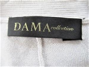ダーマコレクション DAMAcollection カーディガン サイズS レディース ライトグレー カシミヤ/シルク【中古】