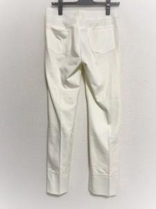 アマカ AMACA パンツ サイズ36 S レディース 白【中古】