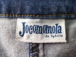 ホコモモラ JOCOMOMOLA コート サイズ42 L レディース ネイビー デニム/ロング丈/春・秋物【中古】