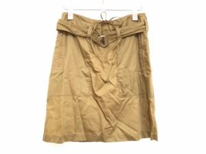 セリーヌ CELINE スカート サイズ38 M レディース ライトブラウン【中古】