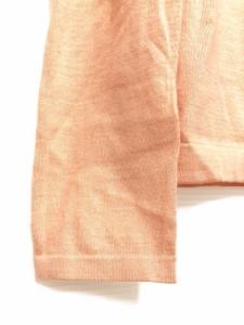 セリーヌ CELINE 長袖セーター サイズM レディース 美品 ピンク×シルバー カシミヤ【中古】