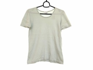 アルマーニコレッツォーニ ARMANICOLLEZIONI 半袖Tシャツ サイズ42 M レディース ライトブルー【中古】