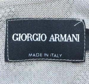 ジョルジオアルマーニ GIORGIOARMANI キャミソール サイズ40 M レディース ベージュ×ライトグレー×黒【中古】