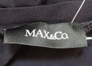 マックス&コー MAX&CO. チュニック サイズS レディース 黒×ベージュ【中古】