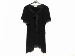 アリスバーリー Aylesbury ワンピース サイズL レディース 美品 黒 袖シースルー【中古】