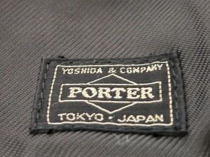 ポーター PORTER/吉田 トートバッグ レディース - 黒 ナイロン【中古】