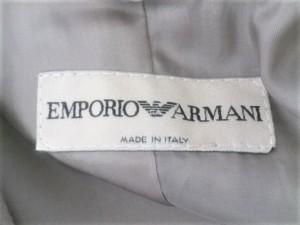 エンポリオアルマーニ EMPORIOARMANI レディースパンツスーツ サイズ38 S レディース ベージュ【中古】
