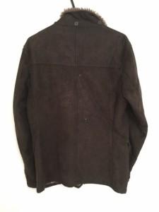 ミッシェルクラン MICHELKLEIN コート サイズ48 L メンズ ブラウン 冬物/homme【中古】