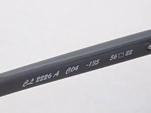 クロエ Chloe サングラス レディース CL2226 黒×パープル×グレー プラスチック【中古】