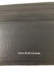 ポーター PORTER/吉田 2つ折り財布 レディース 新品同様 - 黒 迷彩柄 ナイロンジャガード【中古】