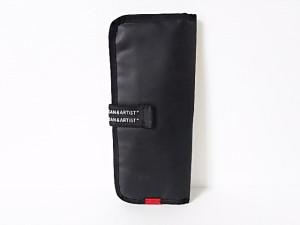 アルティザン&アーティスト ARTISAN&ARTIST ポーチ レディース 黒 PVC(塩化ビニール)【中古】