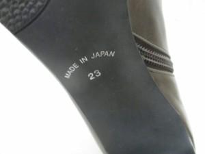 トラサルディー TRUSSARDI ショートブーツ 23 レディース ダークブラウン レザー【中古】