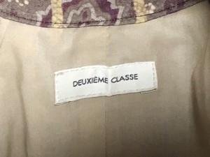 ドゥーズィエム DEUXIEME CLASSE ワンピース レディース 新品同様 ベージュ×ライトグレー×パープル 花柄【中古】