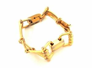 61ab7bbf0d0b セリーヌ CELINE ブレスレット レディース 金属素材 ゴールド【中古】. 画像1