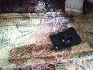 アチャチュム ahcahcum ショートパンツ サイズ1 S レディース ベージュ×ボルドー×マルチ 花柄/フリンジ【中古】