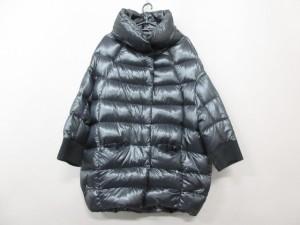 ヘルノ HERNO ダウンコート サイズ42 M レディース 黒 冬物【中古】