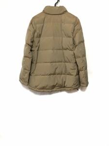 バーバリー Burberry ダウンジャケット サイズ11 M レディース 美品 ベージュ 冬物【中古】