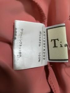 ティアラ Tiara ワンピース レディース 美品 ピンク【中古】