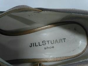 ジルスチュアート JILL STUART パンプス 23 1/2 レディース ライトブラウン エナメル(レザー)【中古】