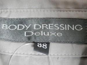 ボディドレッシングデラックス BODY DRESSING Deluxe ワンピース サイズ38 M レディース グレーベージュ シャツワンピ【中古】