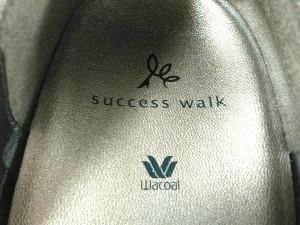 サクセスウォーク(ワコール) SUCCESS WALK(Wacoal ) パンプス 24 1/2 レディース 美品 ブラウン レザー【中古】