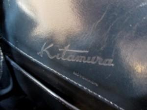 キタムラ KITAMURA ショルダーバッグ レディース ネイビー×白 レザー【中古】